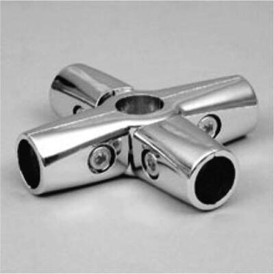 UNO 24 соединетель 5-ти труб усиленный,хром