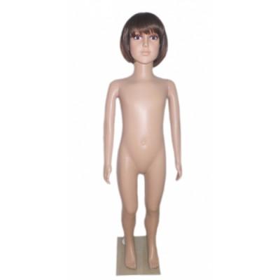 Манекен-кукла пластик детский 110см