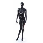 Манекен-кукла черный (белый, серый) глянец в ассортименте,  женский, под заказ