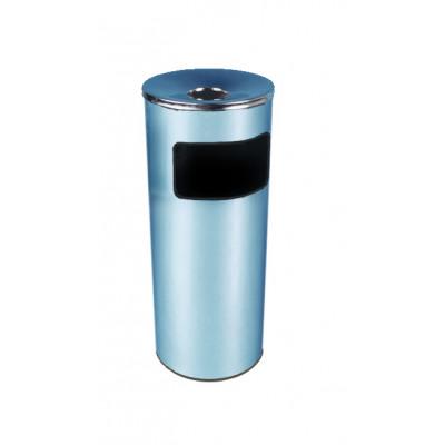 Урна металлическая напольная хром К300НН