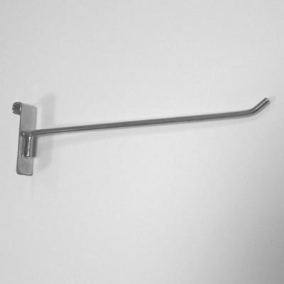 Крючок на решетку оцинк.тонкий 4мм L=150