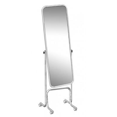 Зеркало напольное 55*170*55 Рама – хром, на колесах