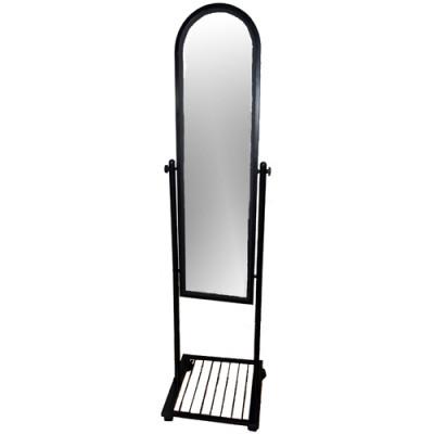 Зеркало напольное 40*42*162 Рама – черная